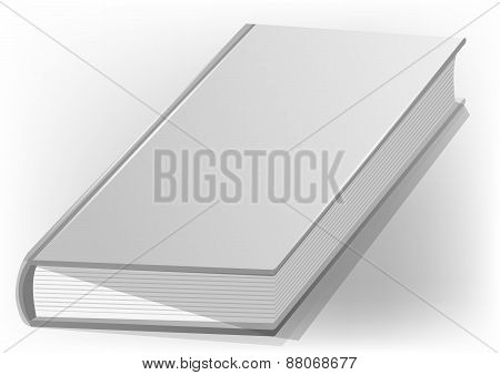 Hardback Book White