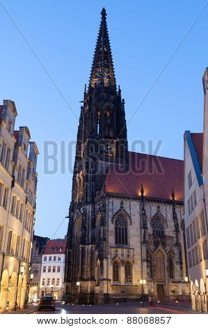 Church In Muenster, Germany