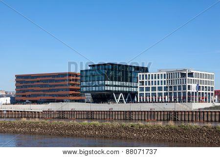 Waterfront Buildings in Bremen