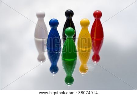 Game playing pieces