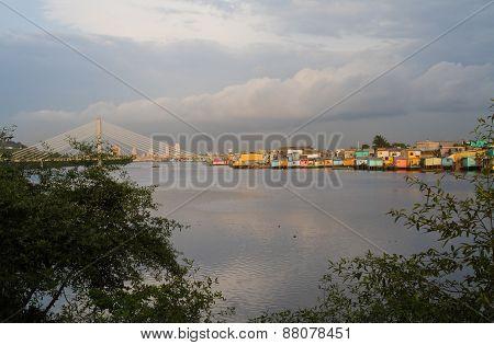 Beautiful city of Guayaquil view, Ecuador