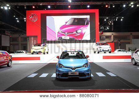 Bangkok - March 25: Showroom Of Mg Car  At The 36 Th Bangkok International Motor Show On March 25, 2