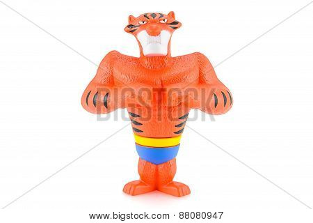 Vitaly The Tiger Toy Character From Madagascar Animation Movie.