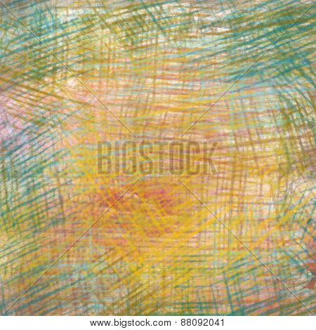 Colorful crayon drawings texture