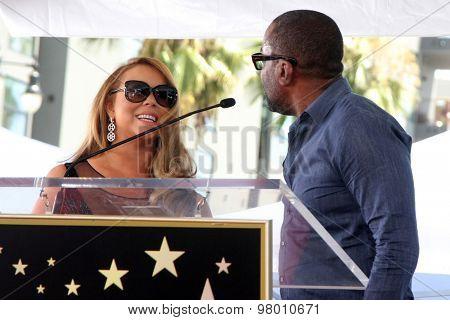 , LOS ANGELES - AUG 5:  Mariah Carey, Lee Daniels at the Mariah Carey Hollywood Walk of Fame Ceremony at the W Hollywood on August 5, 2015 in Los Angeles, CA