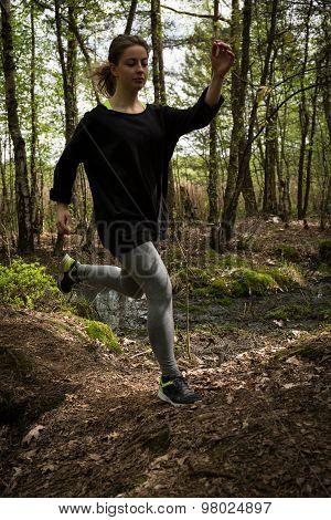 Jumping Through The Hillocks