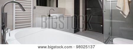 Close-up Of Bathtub