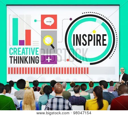 Inspire Inspiration Immagination Motivation Optimistic Concept