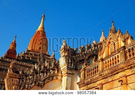 Ananda Temple In Bagan, Myanmar