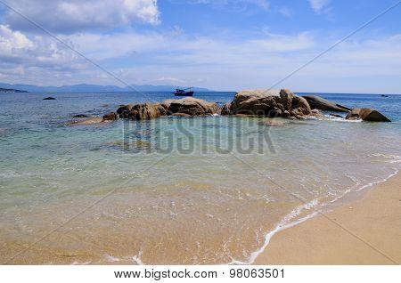 Beautiful beach in Vietnam