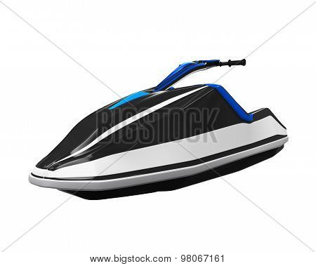 Jet Ski Isolated