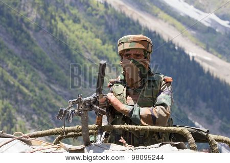 Indian Frontier Guard