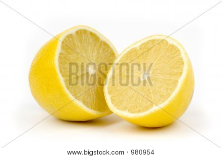 Two Halfs Of Lemon