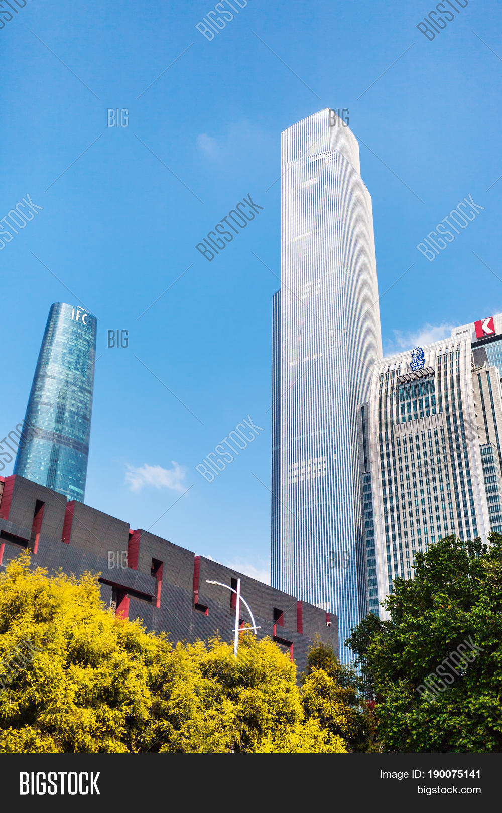 Tower Buildings Image & Photo (Free Trial) | Bigstock