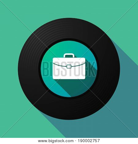 Long Shadow Music Disc With  A Briefcase