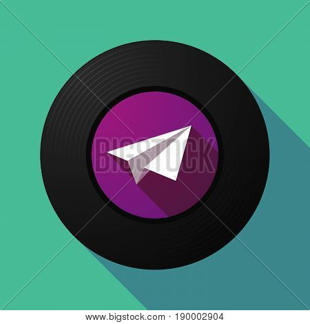 Long Shadow Music Disc With A Paper Plane