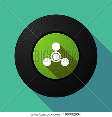 Long Shadow Music Disc With A Chemical Weapon Sign