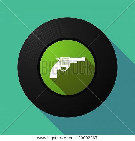 Long Shadow Music Disc With A Gun