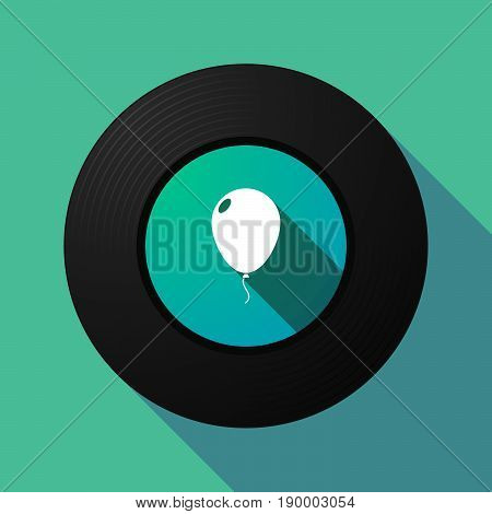 Long Shadow Music Disc With A Balloon