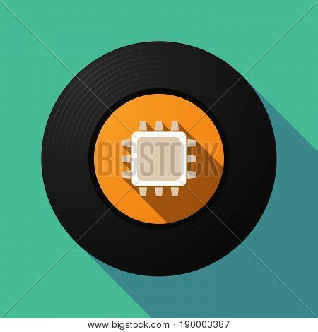 Long Shadow Music Disc With A Cpu