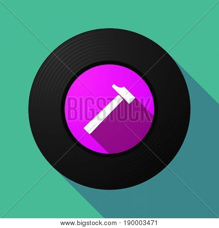Long Shadow Music Disc With A Hammer