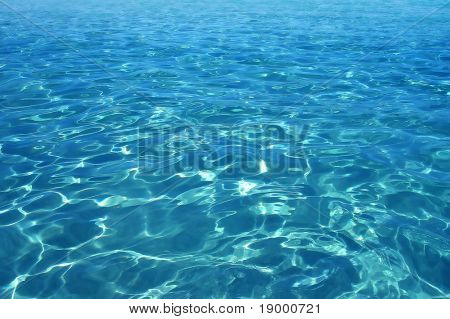 Perfect water surface - texture