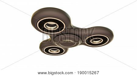 3d illustration of a spinner isolated on white background