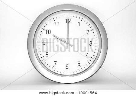 Wall clock - Time concept
