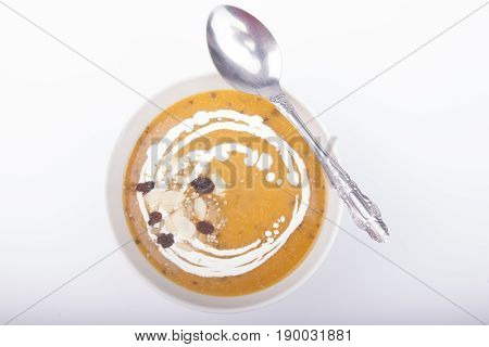 Cream Of Pumpkin Carrot And Potato Soup
