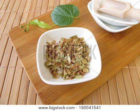 Linden flowers, Tiliae flos, for herbal medicine