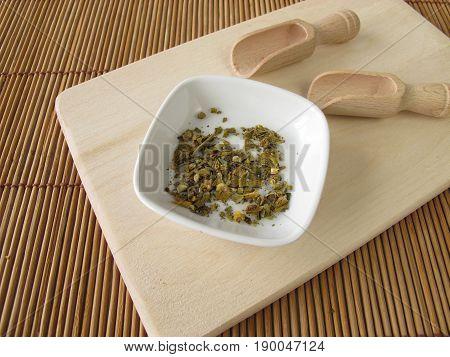 European Mistletoe, Visci herba, in herbal medicine