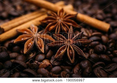 Star Anise And Cinnamon Coffee