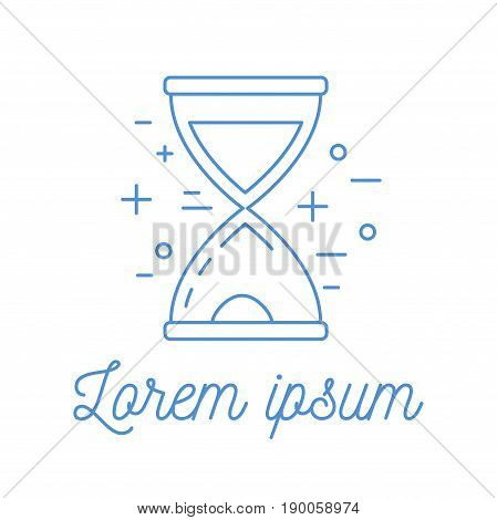 Time Clock Logotype