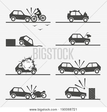 Road Accident, Car Crash