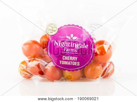 Bag Of Nightingale Farms Cherry Tomatoes From Tesco..