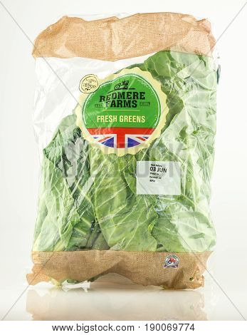 Bag Of Fresh Greens From Redmere Farms For Tesco.