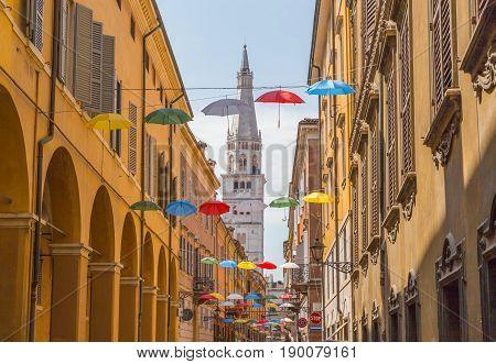 Street in Modena Emilia Romagna Italy picture