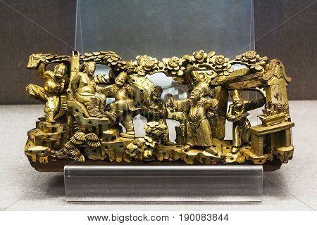 Metal Sculptures In Chen Clan Ancestral Hall