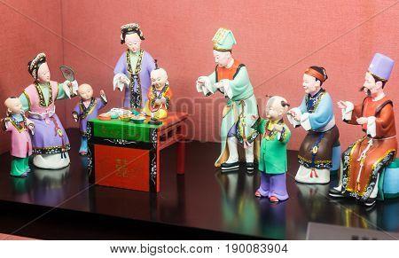 Porcelain Sculptures In Chen Clan Ancestral Hall