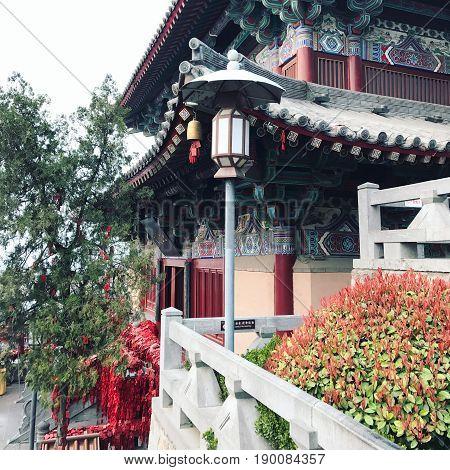 Xiangshan Temple On East Hill In Longmen Caves