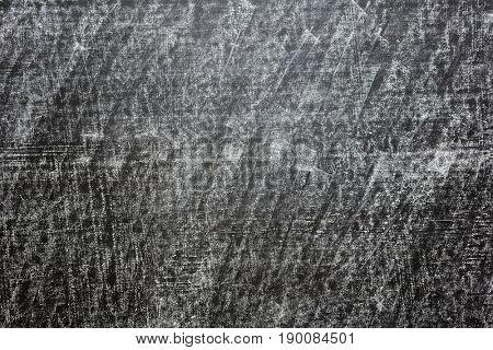 Grunge texture black school chalkboard