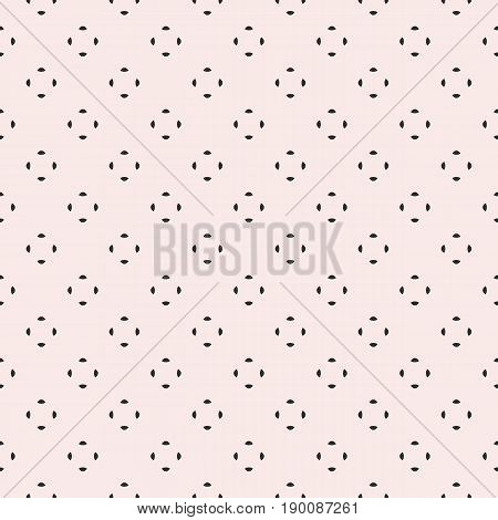 Universal vector seamless pattern. Simple minimalist geometric background. Tiny rounded shapes pattern. Abstract monochrome background. Repeat pattern, design pattern, decor pattern, digital pattern, prints pattern, covers pattern, textile pattern.