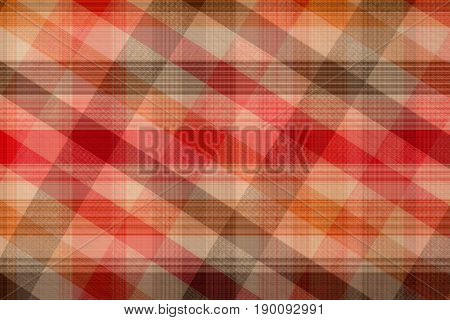 Seamless Plaid Fabric Loincloth With Stripe Color Abstract Background Pattern Texture