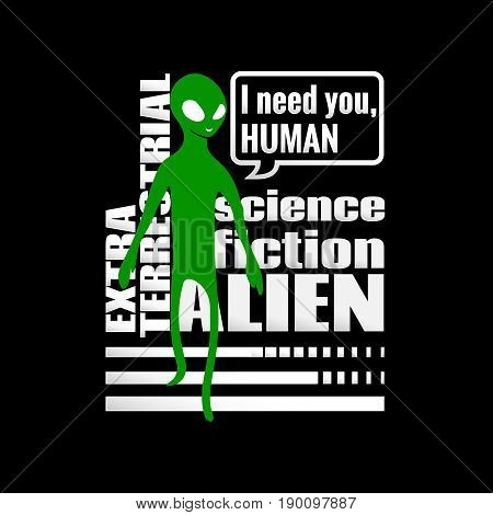Alien Humanoid And Against Wording