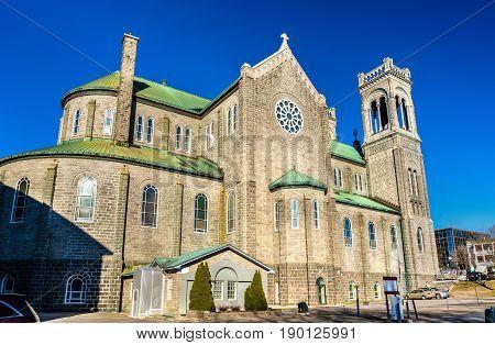 Tres Saint Sacrement Church in Quebec City - Canada