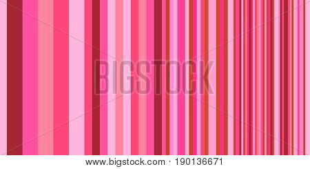 Geometric backdrop. Gradually changing stripes for surface patterns, print, web design. Abstract vector background with colorful stripes different width.