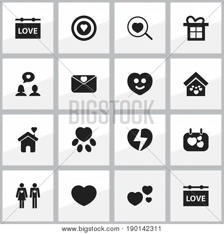 Set Of 16 Editable Amour Icons. Includes Symbols Such As Board, Loupe, Signboard And More. Can Be Used For Web, Mobile, UI And Infographic Design.