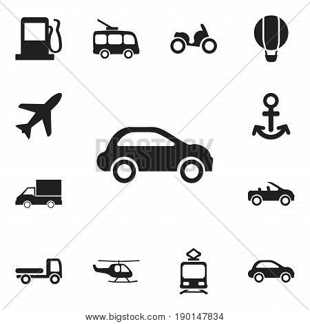Set Of 12 Editable Shipment Icons. Includes Symbols Such As Aircraft, Chopper, Shipping And More. Can Be Used For Web, Mobile, UI And Infographic Design.