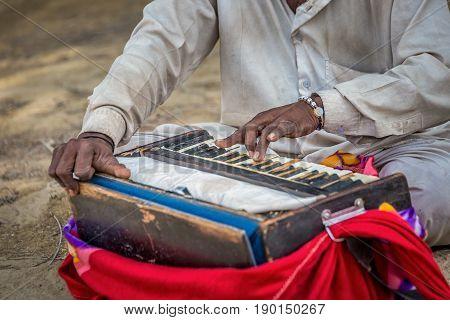 Traditional Musical Harmonium