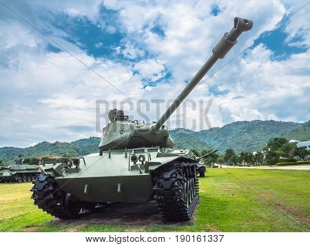 Army Tank Ground Defense And Attack
